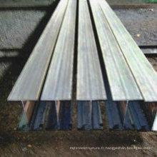 H-Beam en acier au carbone Q235B avec CE approuvé