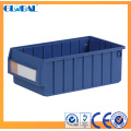 Colorful Shelf Storage Bins with handle and divider/plastic storage bins with lids