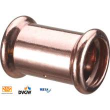 Wras Approbation Copper Straight Coupling