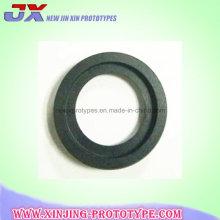 Aluminium 6061-T6 schwarz eloxiert CNC-Drehteile