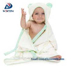 Quick drying and keep warming organic bamboo hooded baby towel Quick drying and keep warming hooded baby towel