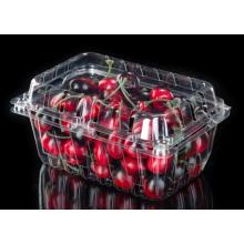 Bolha que empacota recipientes de alimento plásticos claros da garra