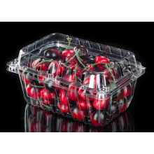 Blisterverpackung Klare Kunststoff-Clamshell-Lebensmittelbehälter
