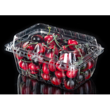 Emballage sous blister en plastique transparent Clamshell Food Containers