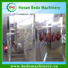 2015 China professional supplier fish meat smoking machine/smoked fish machine for sale with CE 008613253417552