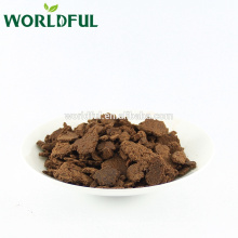 Camelia seed cake for aquaculture, High oil content, Tea seed cake