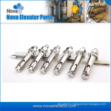 yellow or white zinc plated Steel Elevator anchor Bolts /Expansion Shield Anchor