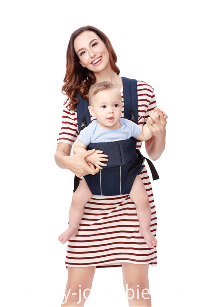 Solid Color Soft Baby Carrier
