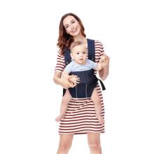 Portador de envoltório de bebê de algodão orgânico recém-nascido