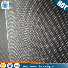 "2 Micron Dutch Weave 325x2300 Mesh 316L Stainless Mesh .0014""x.001"" Wire Dia Micronic Filter Cloth"
