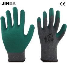 Crinkle Latex Coated Industrial Labor Protective Safety Work Gloves (LS003)