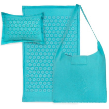 Almohada de estera de acupresión combinada de lino y algodón
