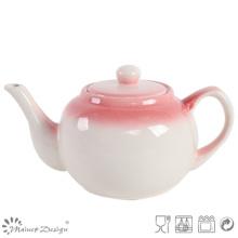 Mão Pintura Cor Natural Teapot Simples