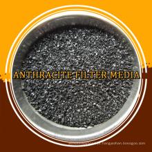 Meios filtrantes de antracite de alta qualidade para águas residuais