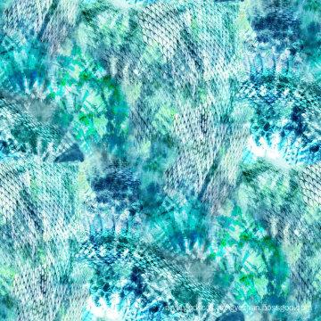 Tissu en nylon de maillots de bain Spandex en nylon pour l'usage de sports (ASQ068)