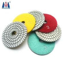 Diamond polishing pads for granite / marble