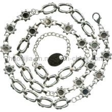 Cadeias de liga de zinco para vestuário-A4889
