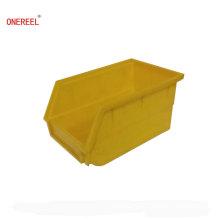 Contenedores de almacenamiento de plástico colgado colorido personalizado