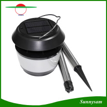 8PCS LED Outdoor Solar Power Landscape Light Garden Lamp with Mosquito Repellent Portable Solar Camping Lantern Light