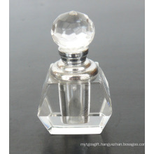 Clear Body Crystal Glass Perfume Bottle (JD-XSP-505)