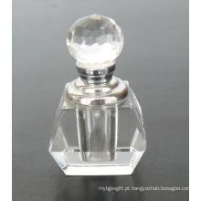 Frasco de perfume de vidro de cristal claro do corpo (JD-XSP-505)