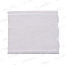 Makeup removal cotton pads hand in interleaved