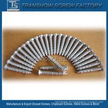 7.5 * 52mm Silber beschichtete Betonschraube