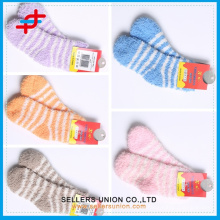 Fashion-Leader Towelling Coral Fleece Girls Socks