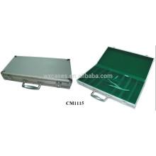 carré de valise de poker en aluminium angle 300 en gros