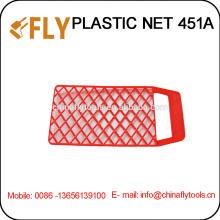 Rotes Kunststoffnetz