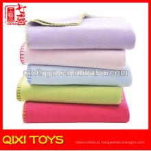 Cobertores de bebê de toque suave Cobertor de bebê de lã por atacado