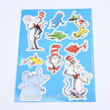 factory made cheap good quality die cut dress up kits fridge magnets for kids