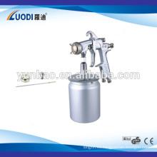 Pistola de pulverización neumática de gran angular superior de alta presión