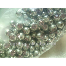 fashion Stainless steel Jeweled Balls accessories