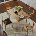 Wooden Used Restaurant Table and Chair Furniture (SP-CT372)