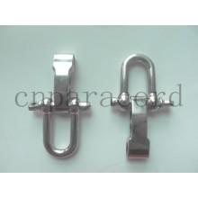 Nueva hebilla ajustable de acero inoxidable de 15 mm