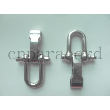 Nueva hebilla ajustable de acero inoxidable de 15 mm