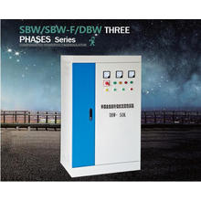 Regulador de voltaje eléctrico monofásico de la serie de DBW de la alta calidad