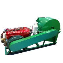 Tipo diesel placa do floco que faz a máquina de esmagamento de desperdício de madeira