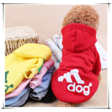 Оптовая одежда для собак, распродажа Pet зима толстовки одежда , собака одежды любимчика
