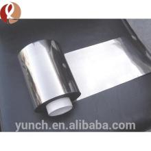 Precio puro de la lamina de titanio W1 0.05mm del rodillo chino del proveedor chino de GETWICK