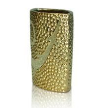 Ovales Keramik Kerzengefäß