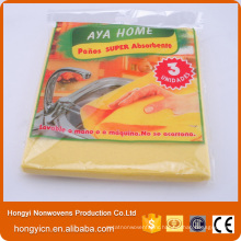 Lint Free Nonwoven Fabric Cloth, Needle Punched Cleaning Products