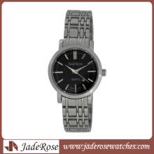 Reloj de señoras de cuarzo de acero inoxidable sólido