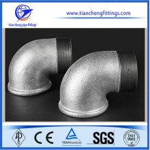 Black And Galvanized Malleable Iron Pipe Fittings