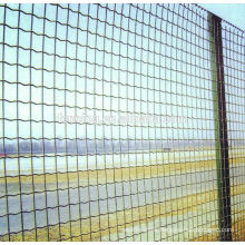 Holland Cheap PVC Coated Iron Euro Fencing / pvc coated euro fencing