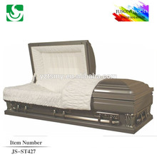 JS-ST427 good quality metal casket factory
