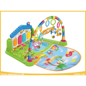 Quality and Safety Kick & Play Piano Gym Toys Baby Play Mat with 3 Pattern for Baby