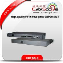 Ep3004 De alta calidad FTTX Cuatro Puertos Gepon Red Olt