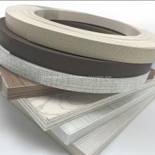 Bandes de chant en PVC 0.4 * 22mm pour meubles de maison